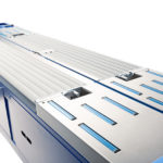 Mosca's TRC-6 automatic strapping system for corrugated bundles